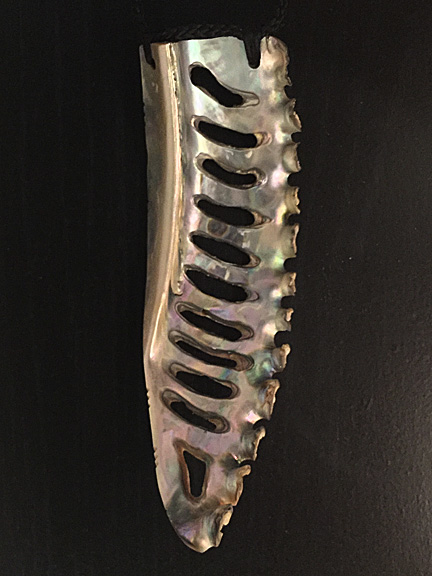 28. Rei niho (abalone)  $350.00