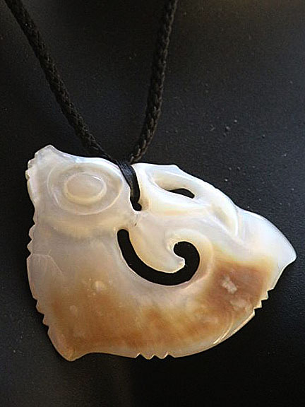 23. Koropepe (growth) gold lipped pearl shell  $300.00