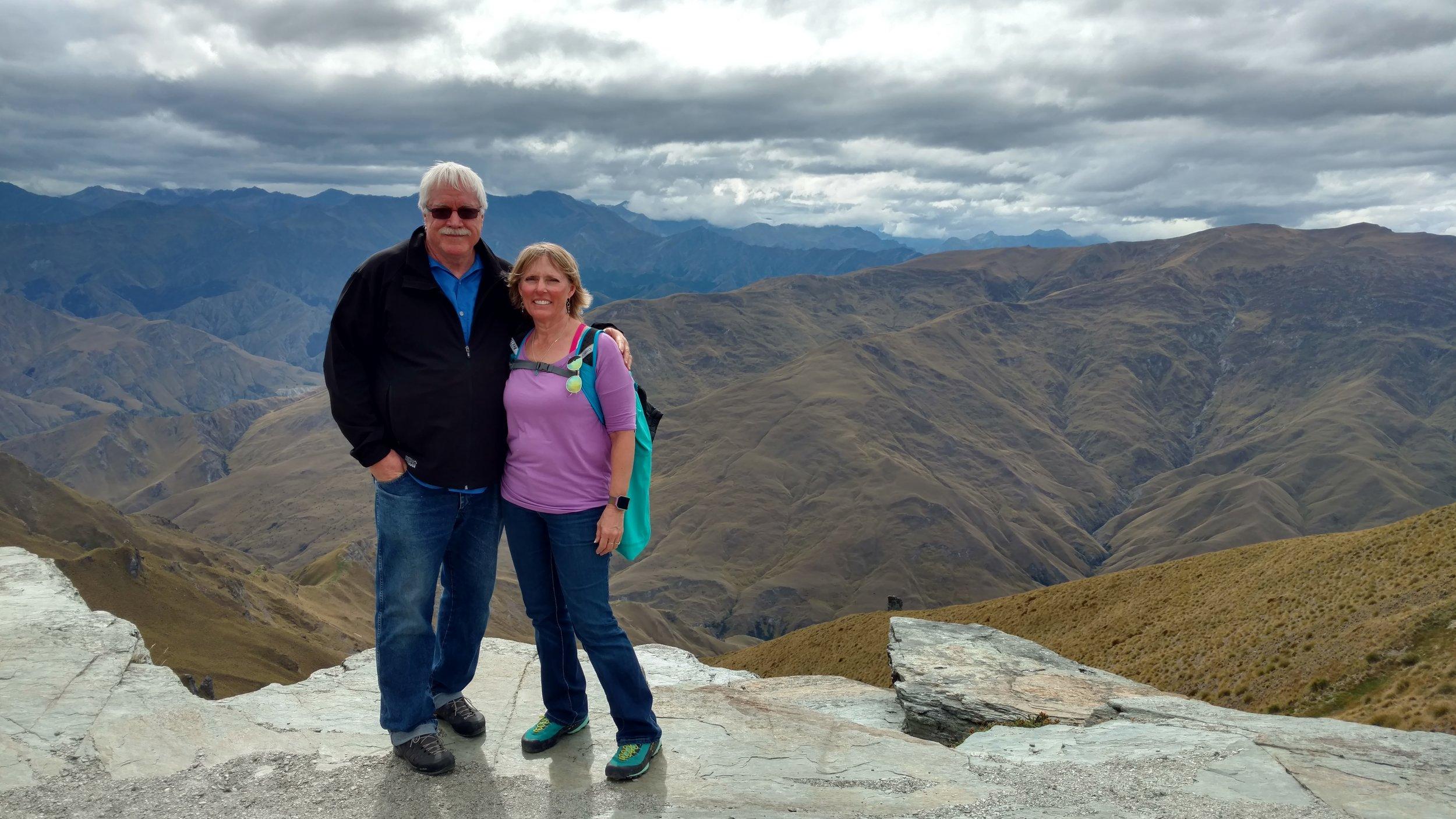 Summit Coronet Peak