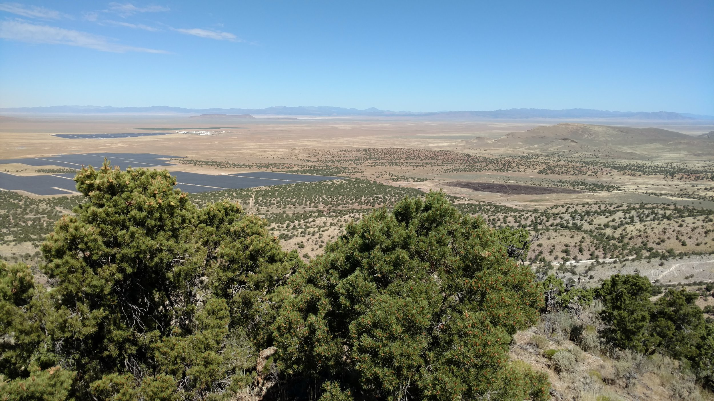 Three Peaks North summit view west-northwest