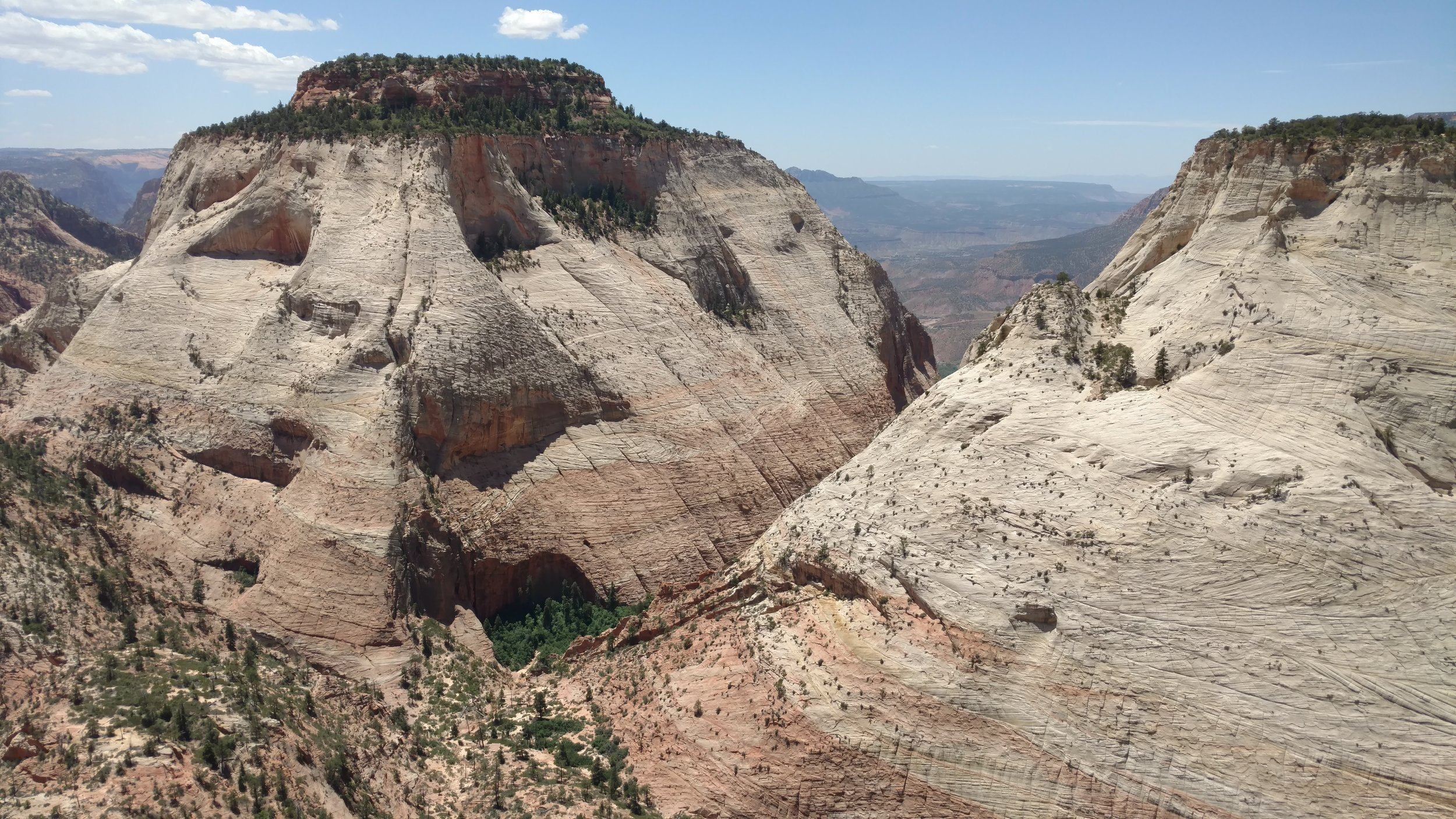 East Temple, Spry Canyon and Twin Brothers