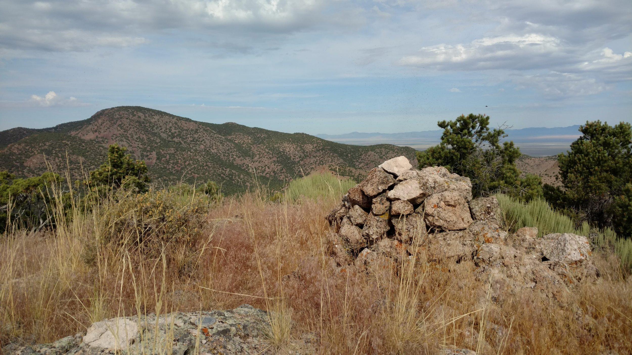 Antelope Peak summit