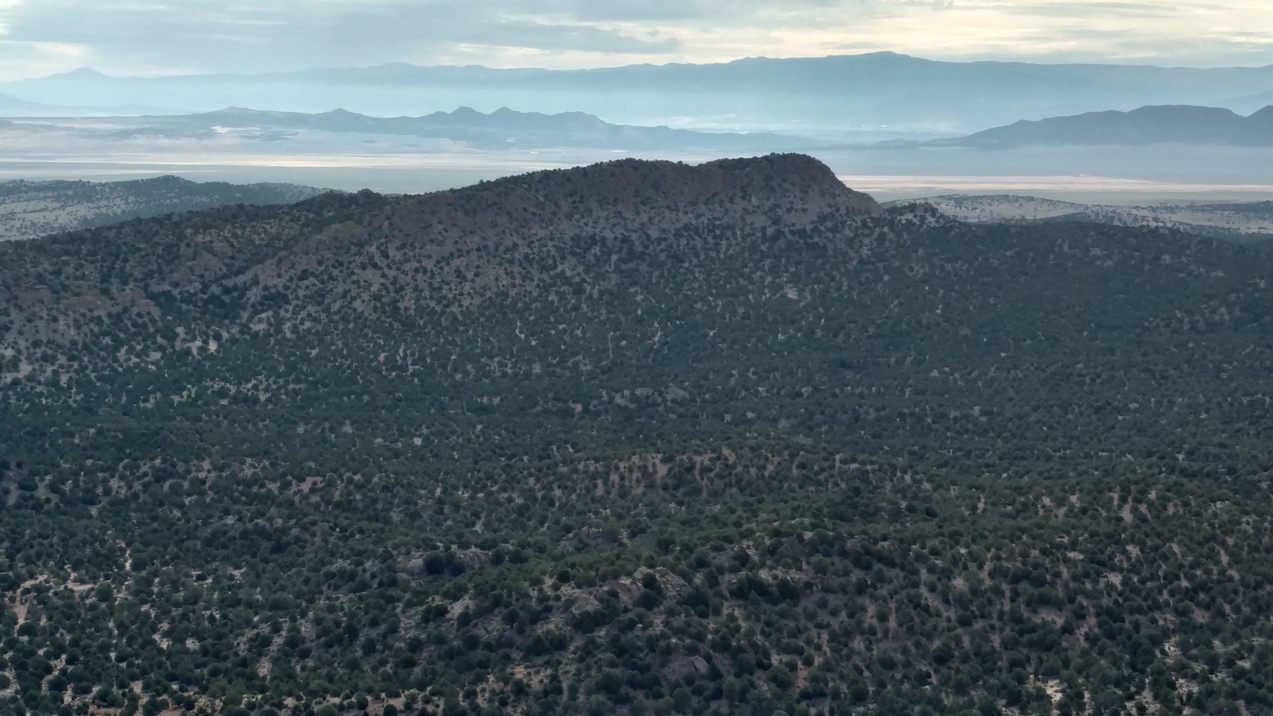 Antelope Summit view of Unnamed Peak 6371