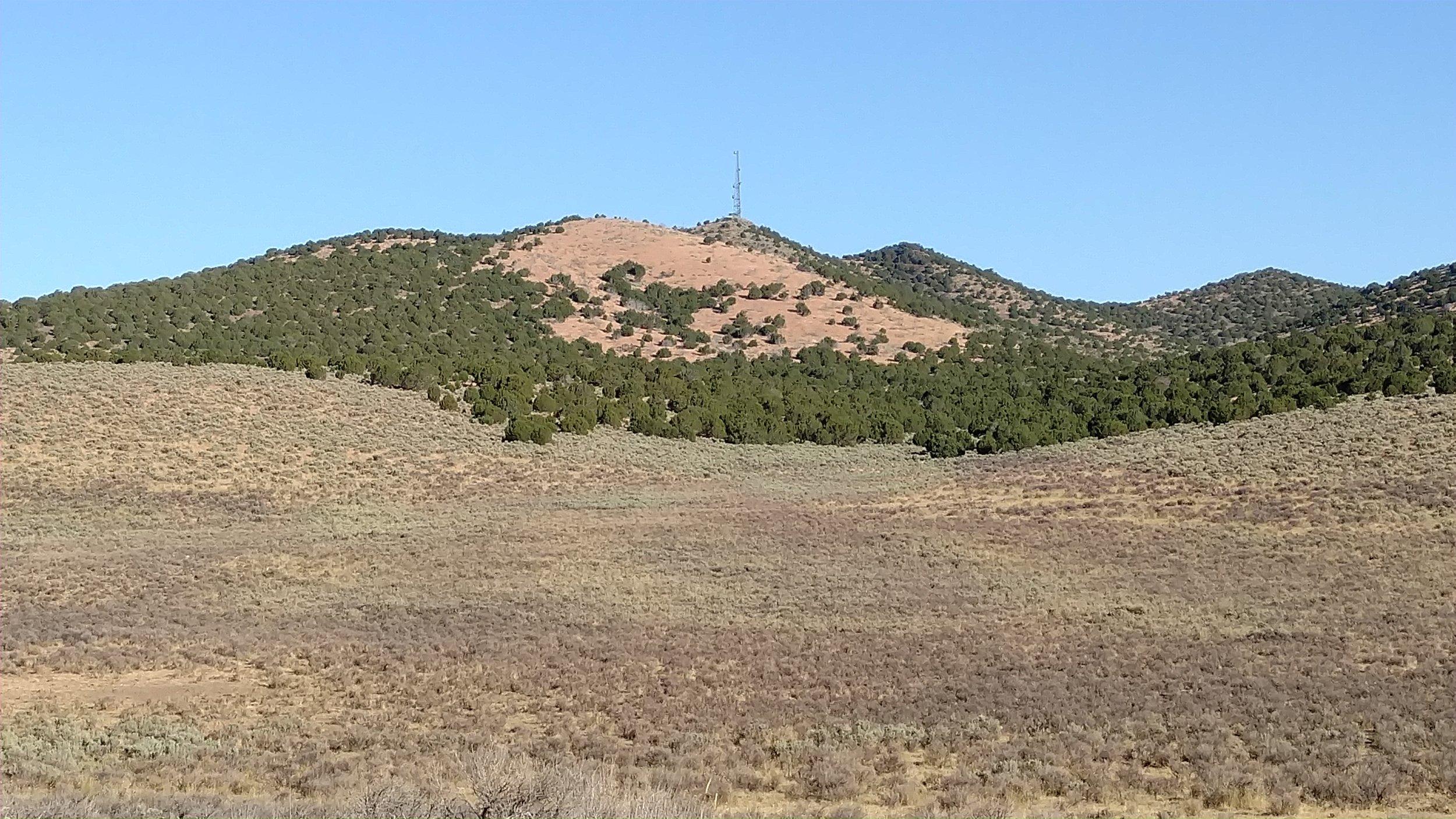 Unnamed Peak 7460; Iron County; Baboon Peak - UT quad; Rise 320'; UT Rank: 1,836