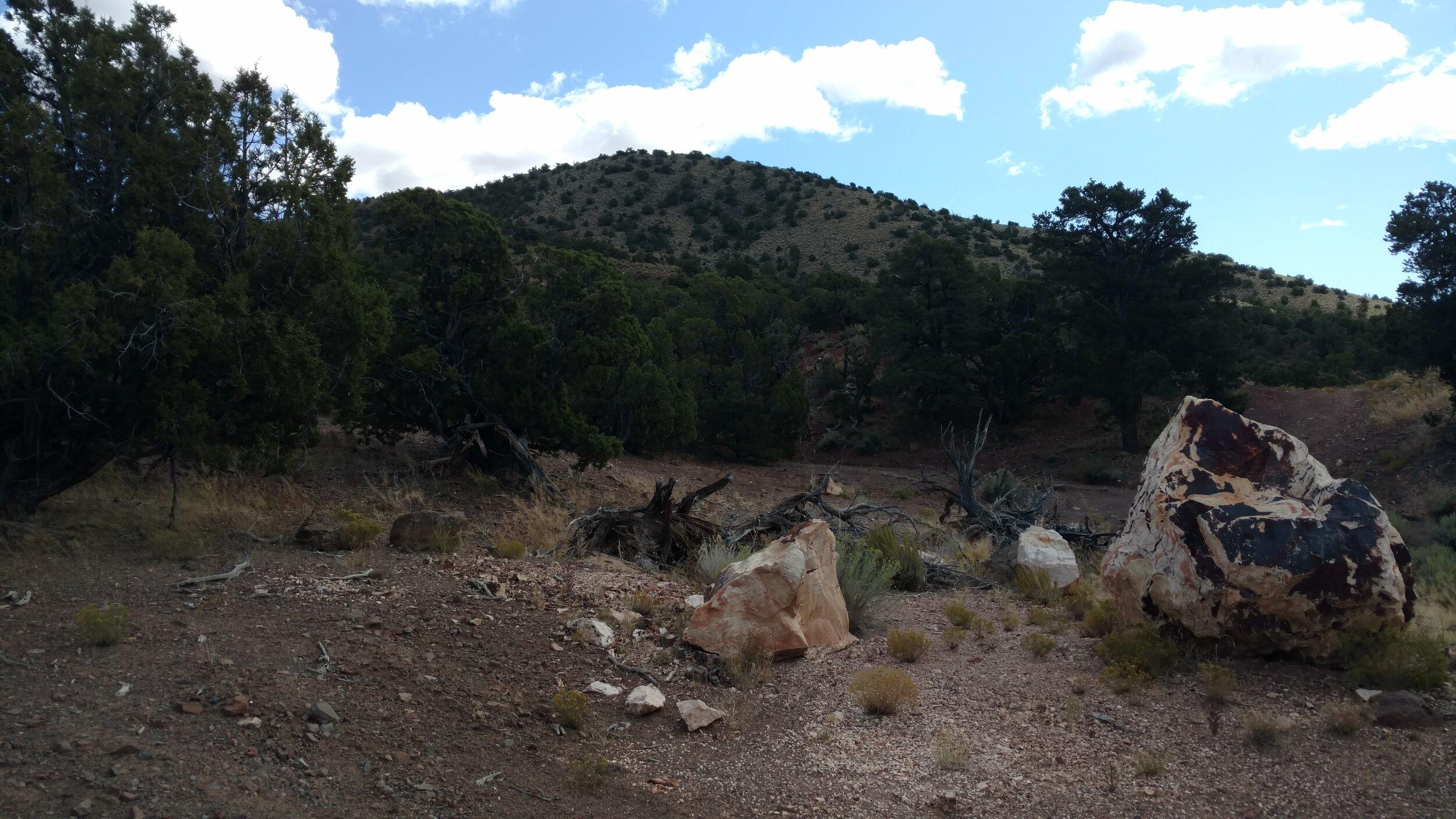 Unnamed Peak 6701; Beaver County; Blue Mountain quad; Rise: 391'; UT Rank: 2,682.
