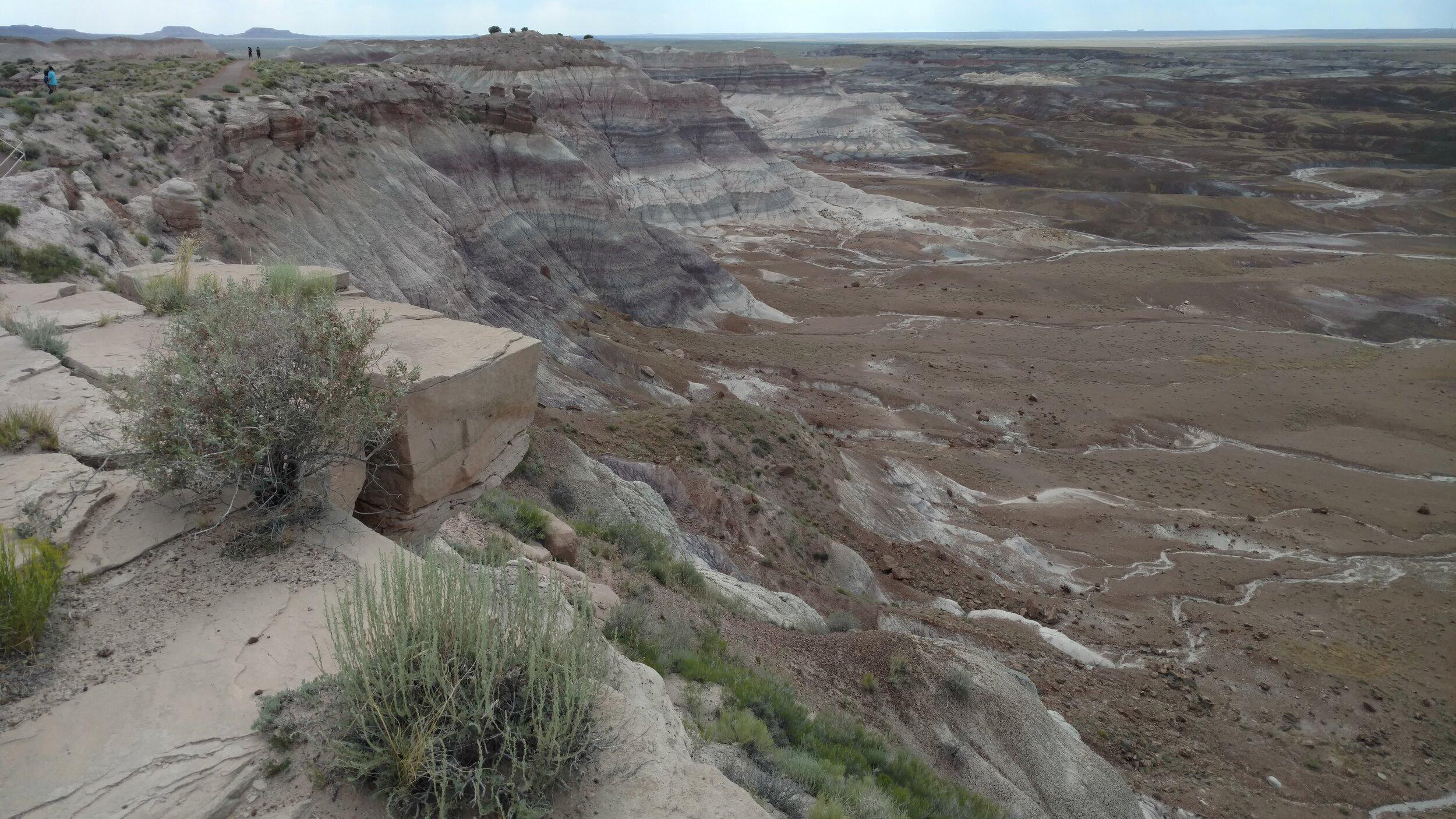 Blue Mesa Bad Lands