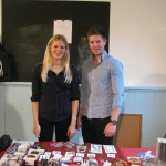 Anna & Anders promoting FCF