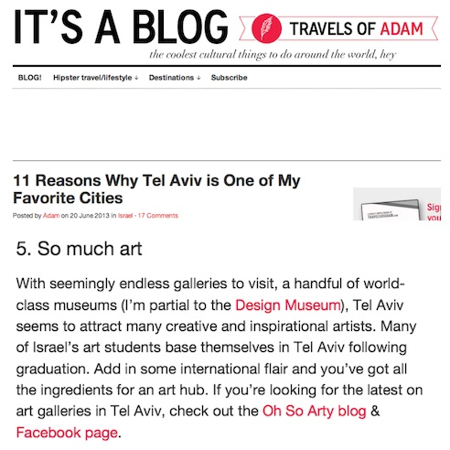 Travels Of Adam