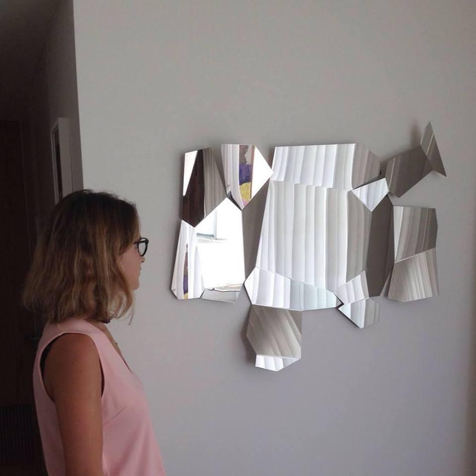 Sea Front Condominium,designed by  Rebecca Seror   Art Advising by Sarah Peguine