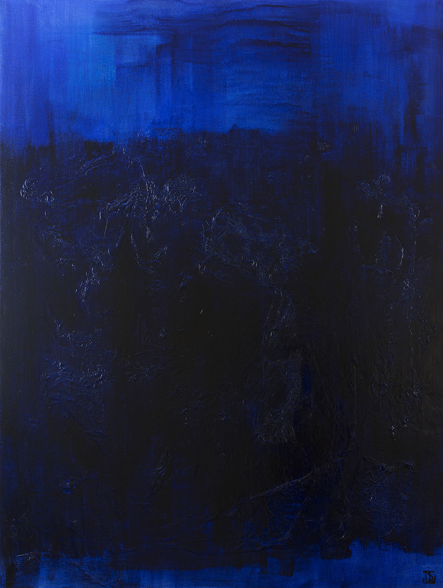 The Deep End In Blue - SOLD