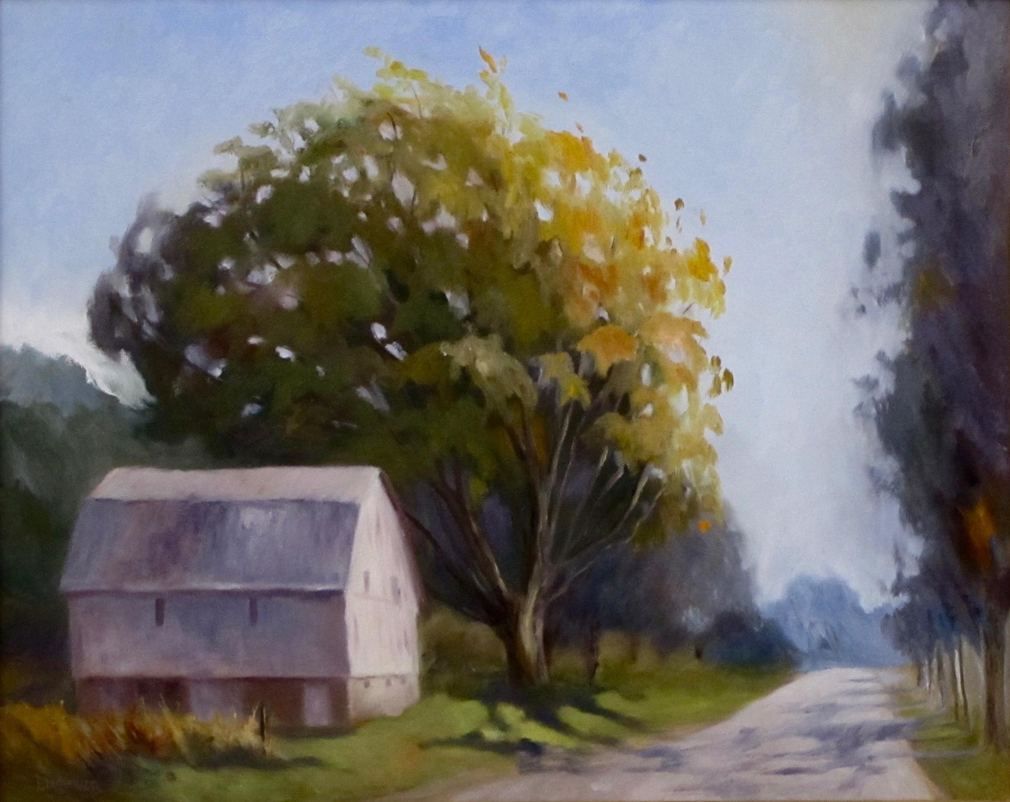 "White Barn | 16""x20"""