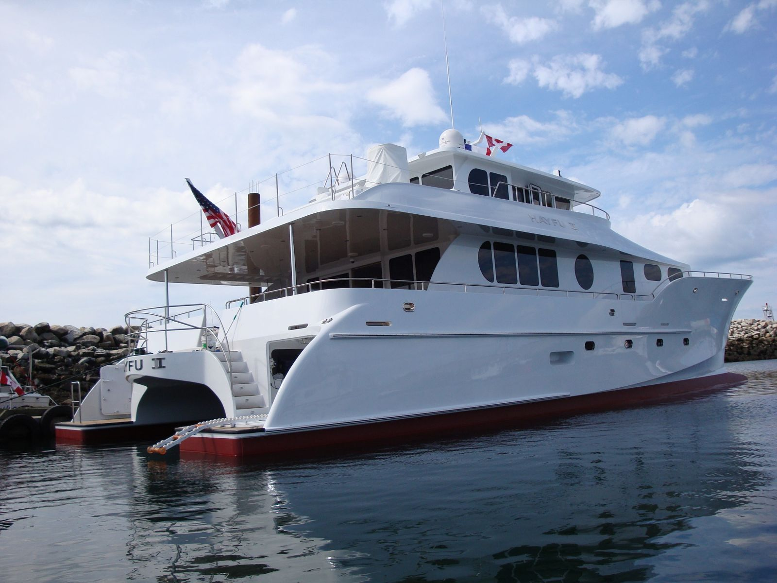 85' Catamaran (Bill Preston Lead Architect)