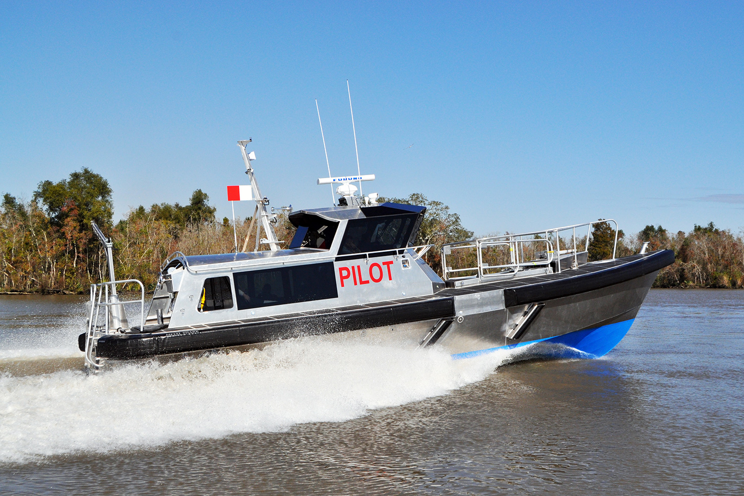 45' Pilot Boat (Bill Preston - Lead Architect)