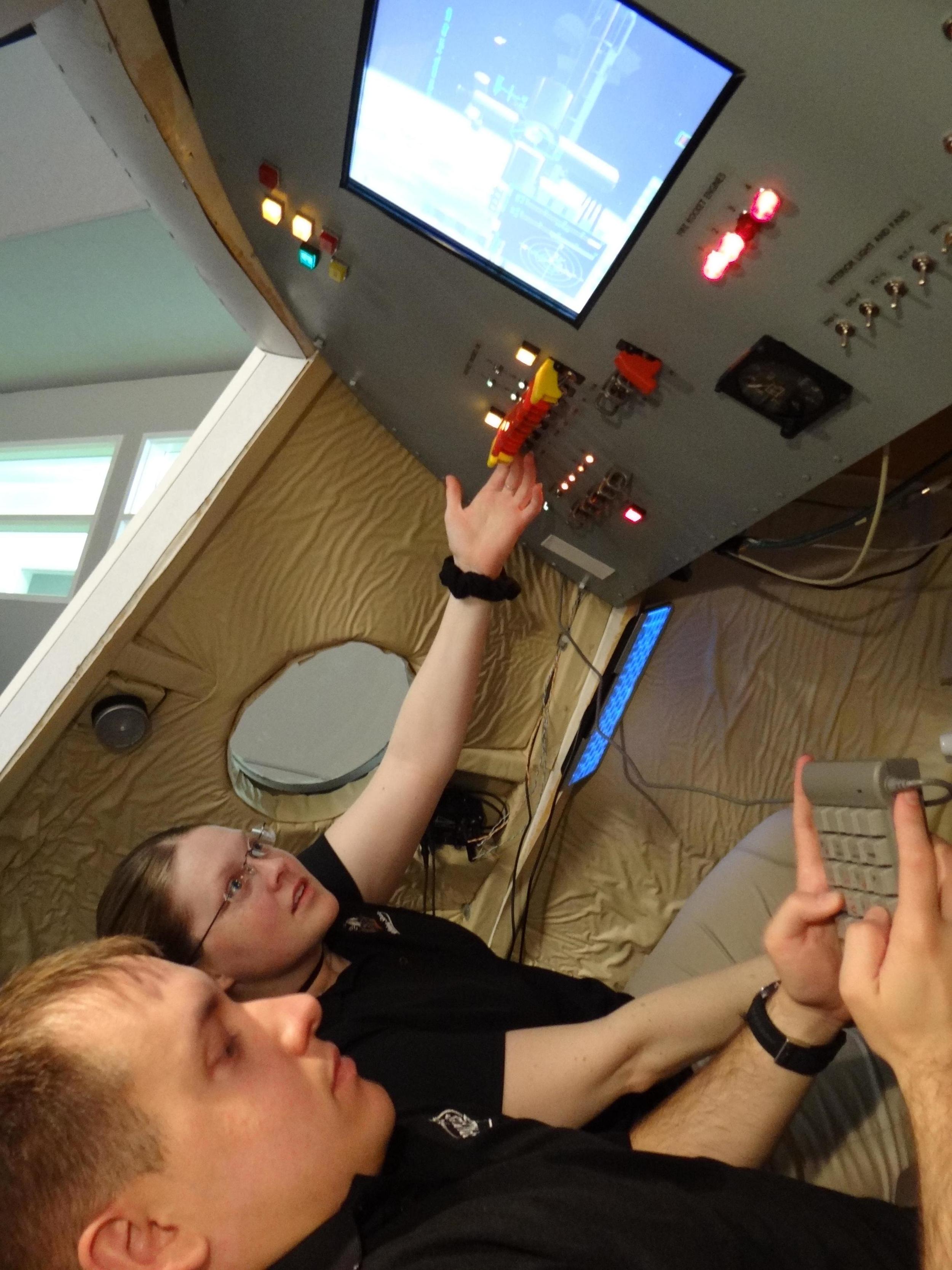 UND Space Studies - Orion Simulator - 2012