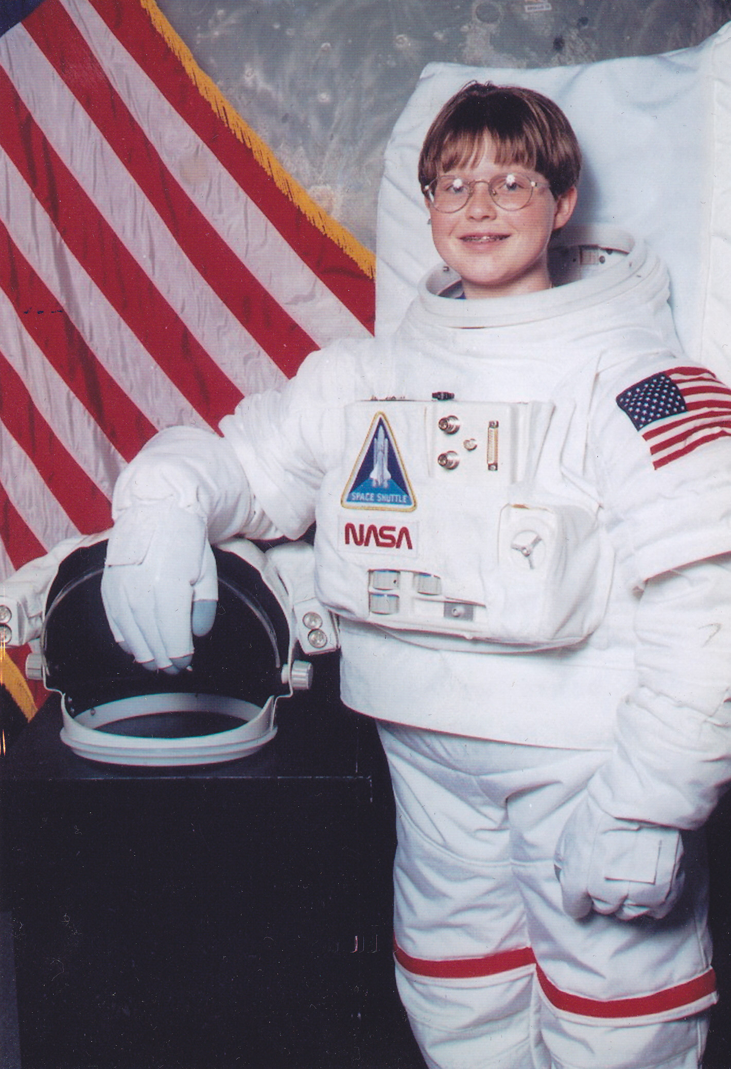 15 years old! Big glasses and Braces...oh boy.... Level 1 of the FATP