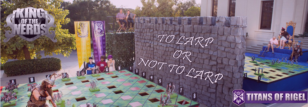 Season 2, Episode 3 - To LARP or Not to LARP?