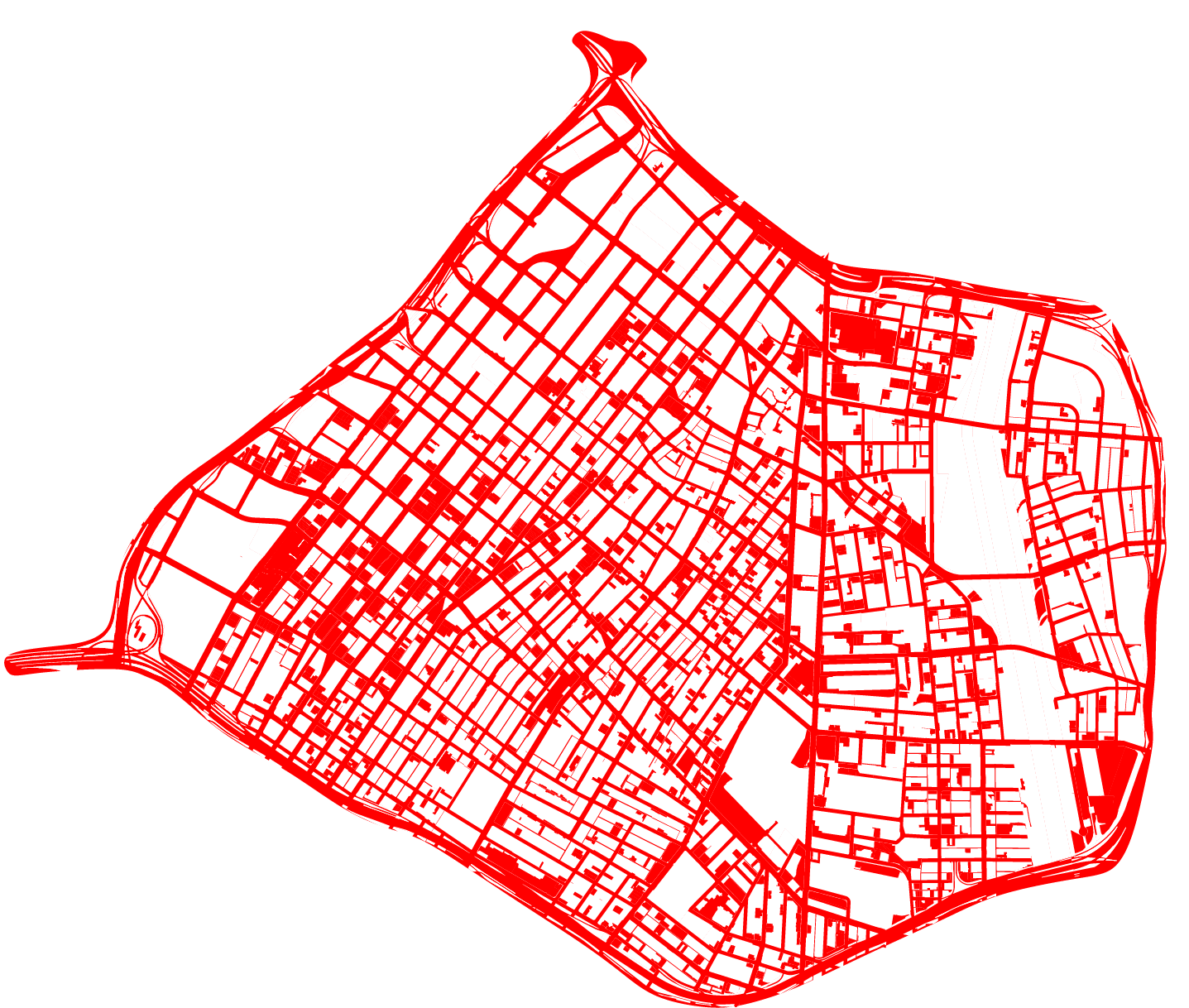 39% of DTLA's land area is used for streets and surface parking.