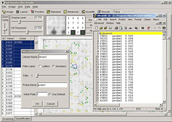 Displaying Results File