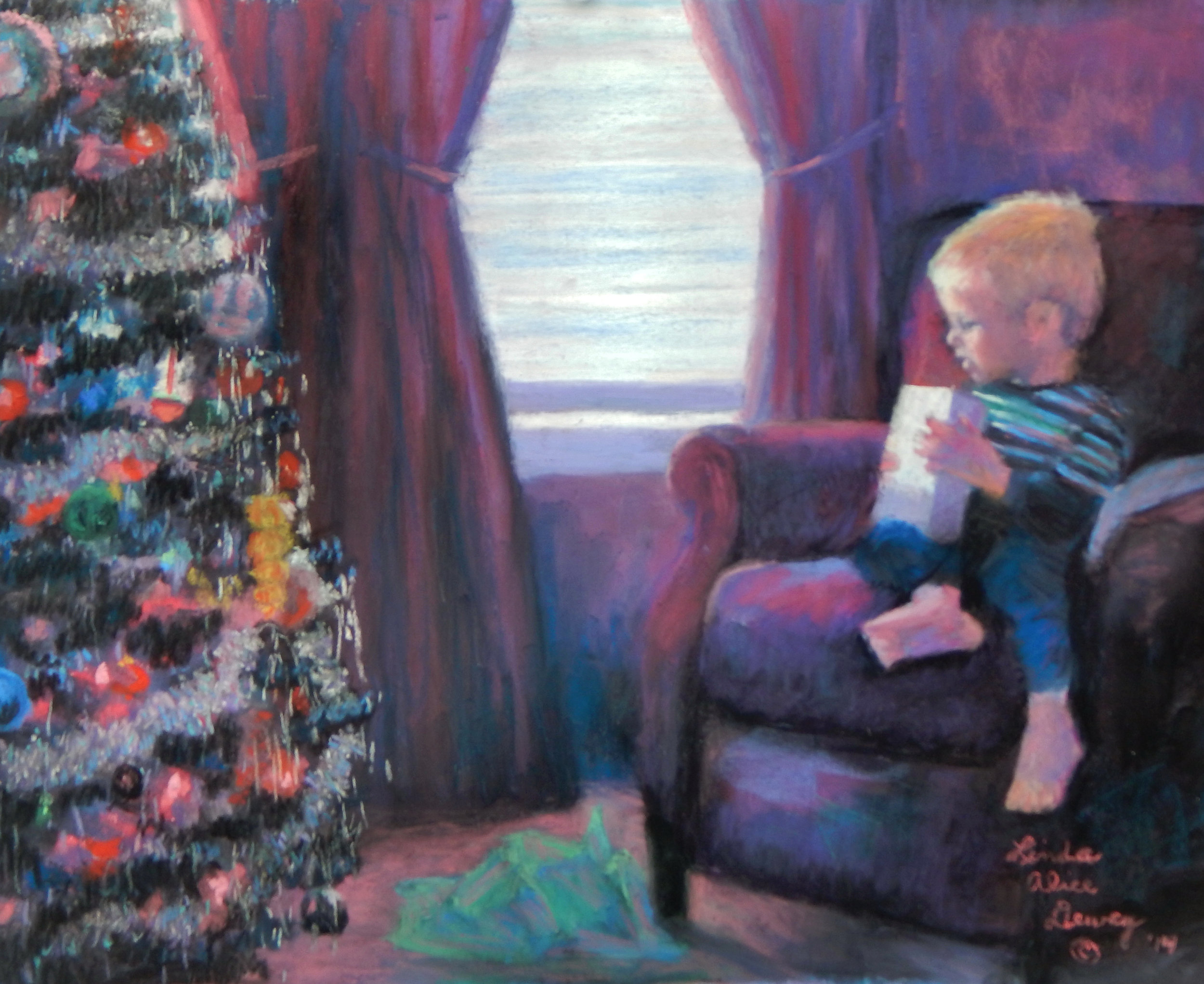 """Here's one I did for a grandson a few years ago. I call it """"Johnny's Gift."""""""