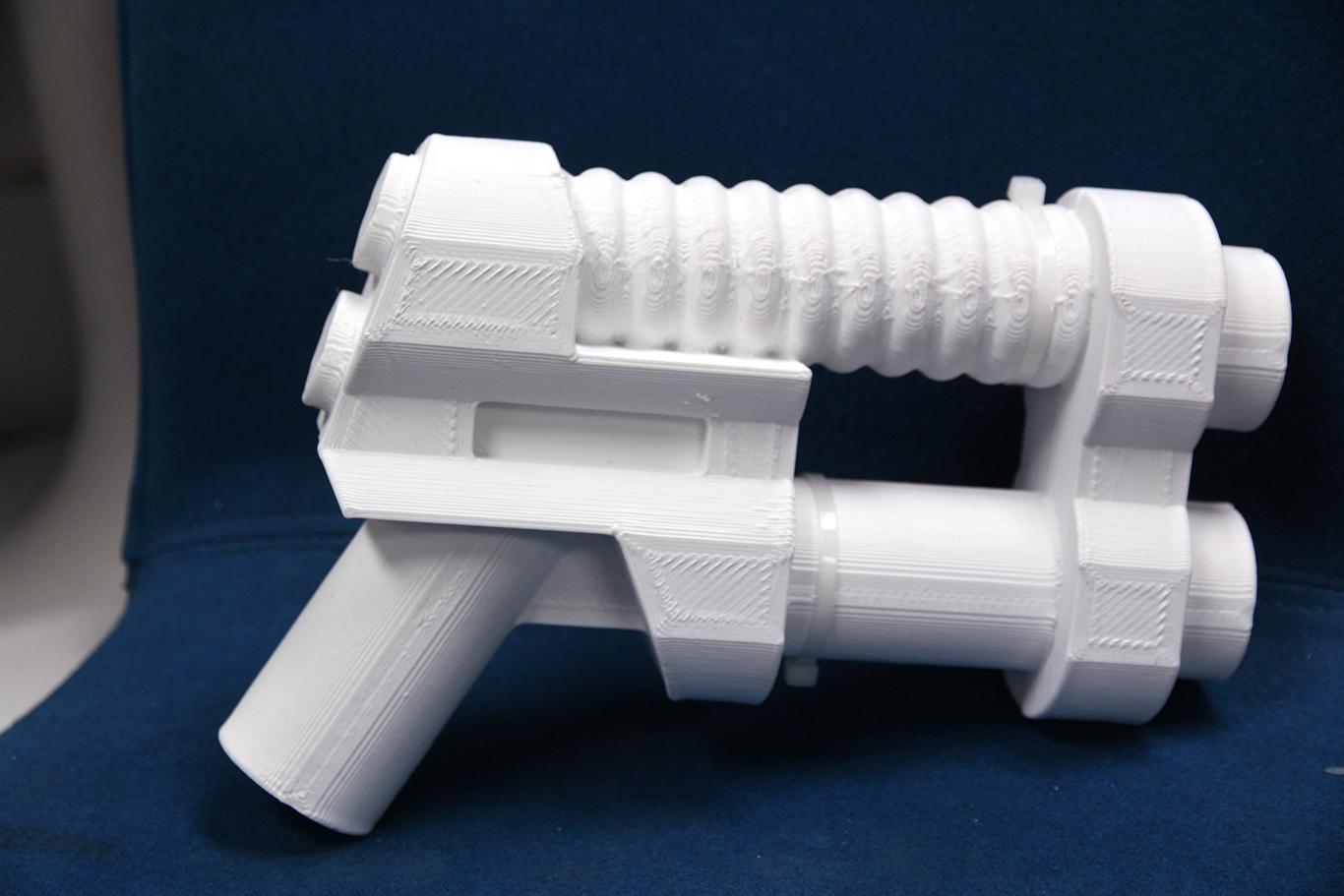 Lego Toy Gun White ABS $250