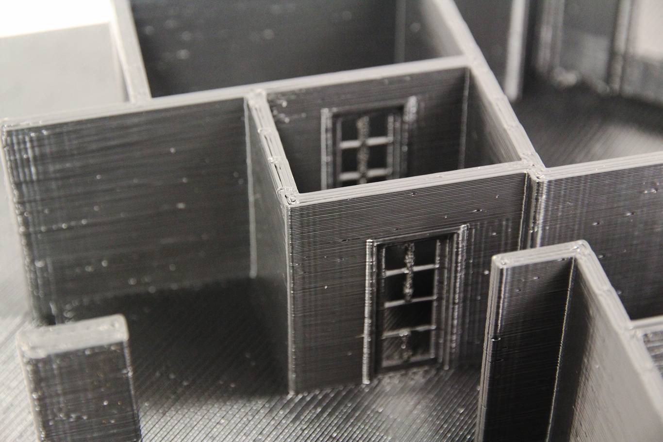 Architectural Model Detail