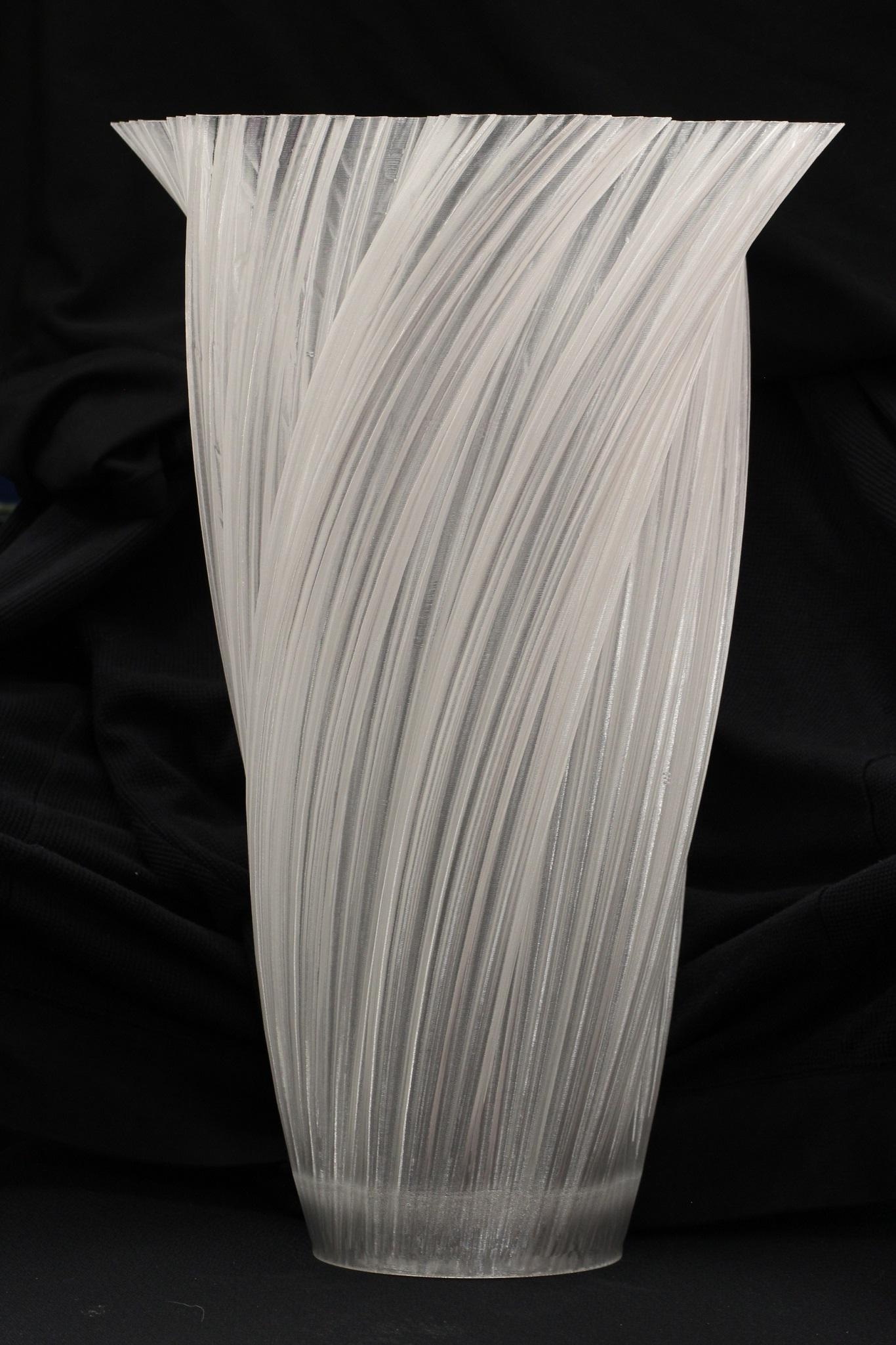 Clear PETG Vase, $300