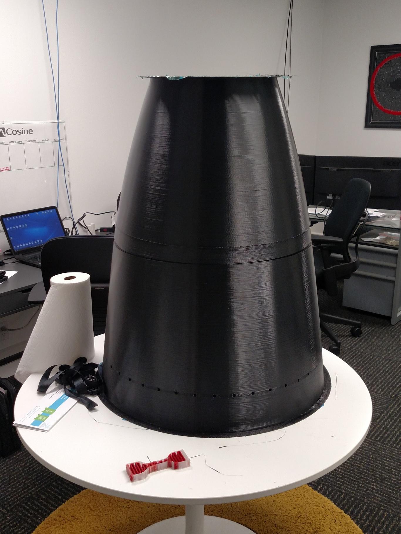 """NASA Rocket Nozzle Model 39""""(1m) $2200"""