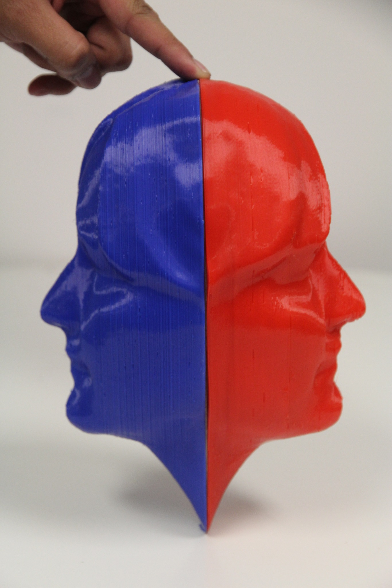 Two Face Red and Blue ABS $150 each