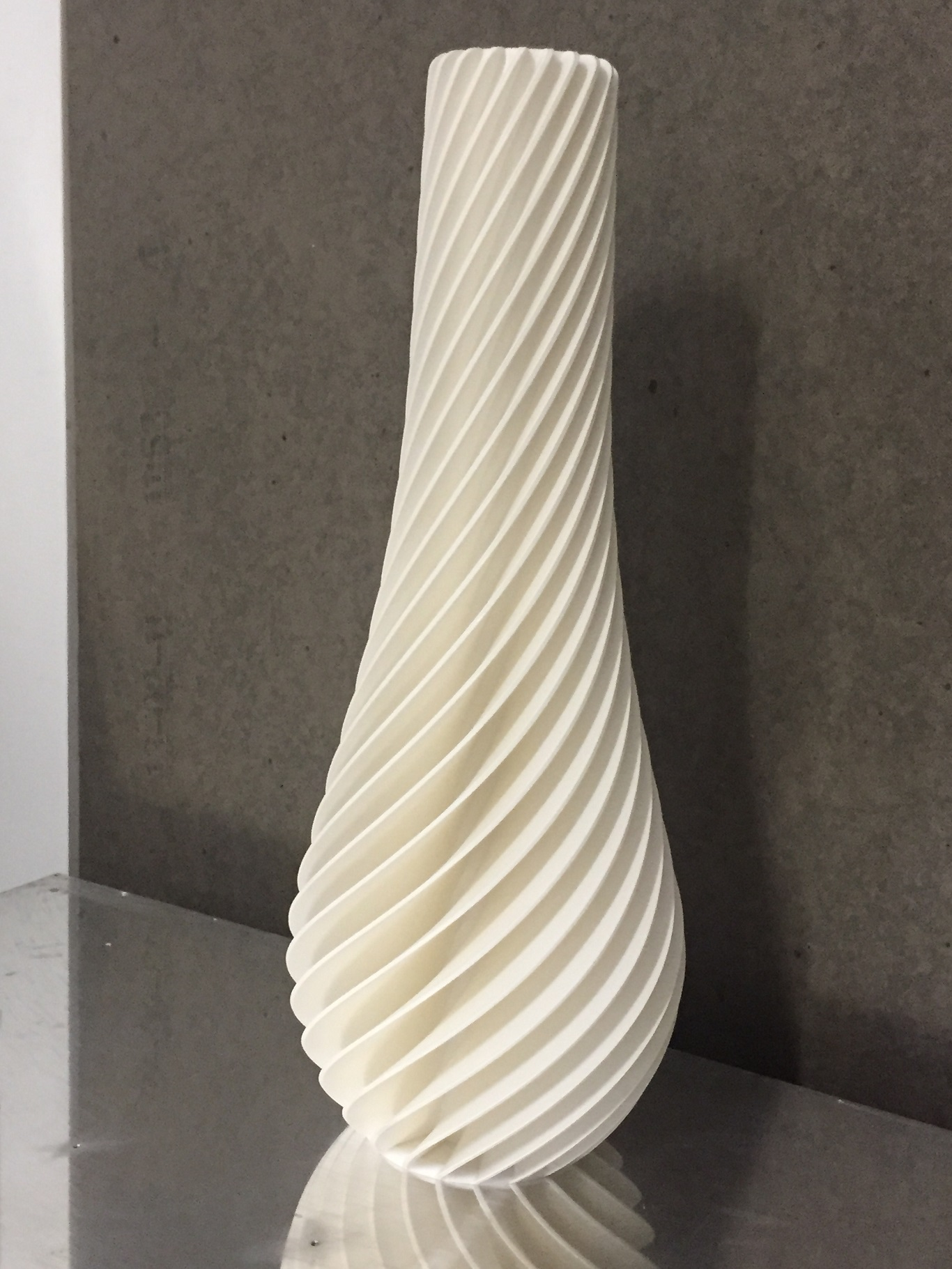 """White ABS 35""""(89cm) $400"""