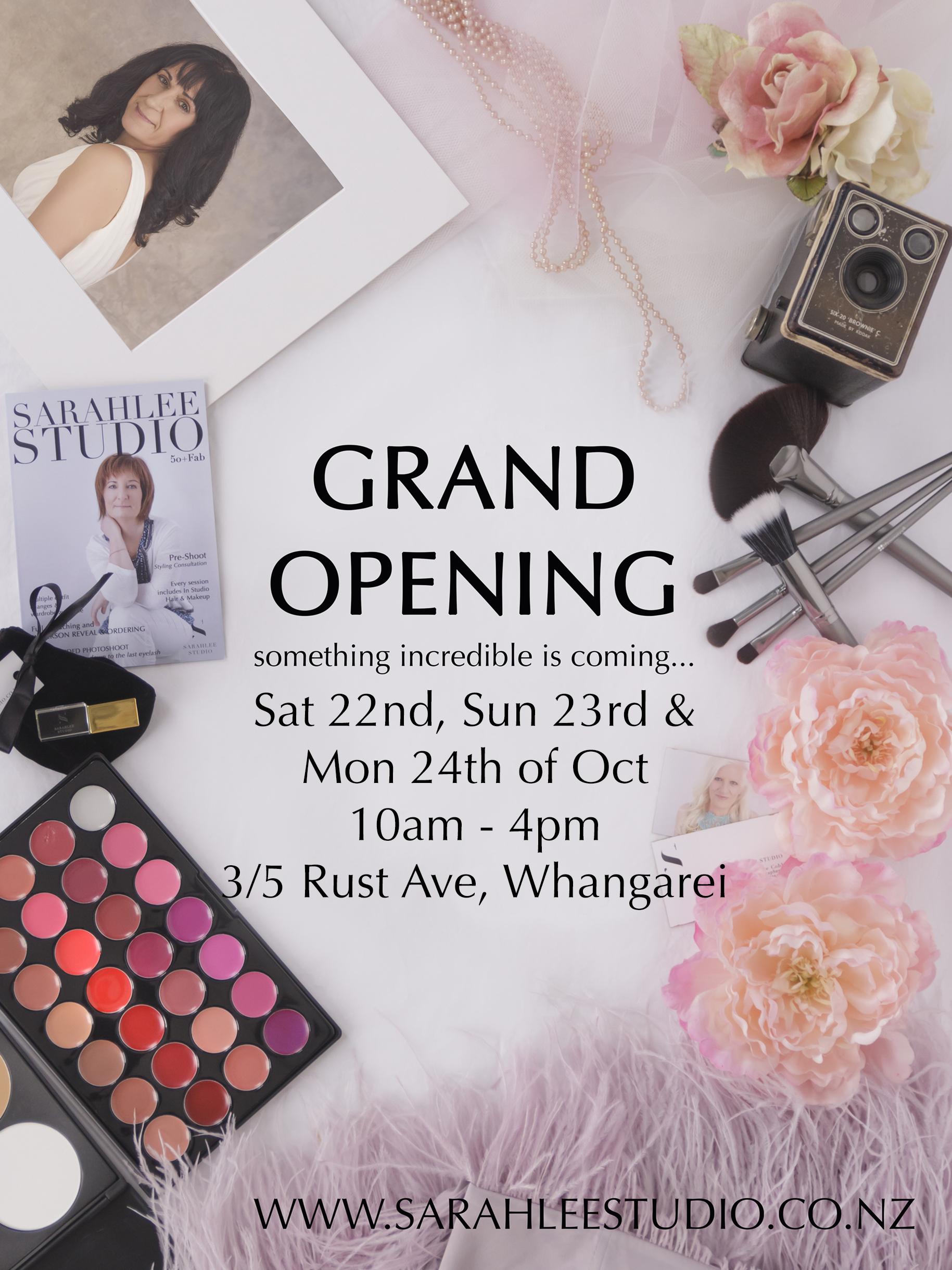 sarahlee-studio-opening-whangarei