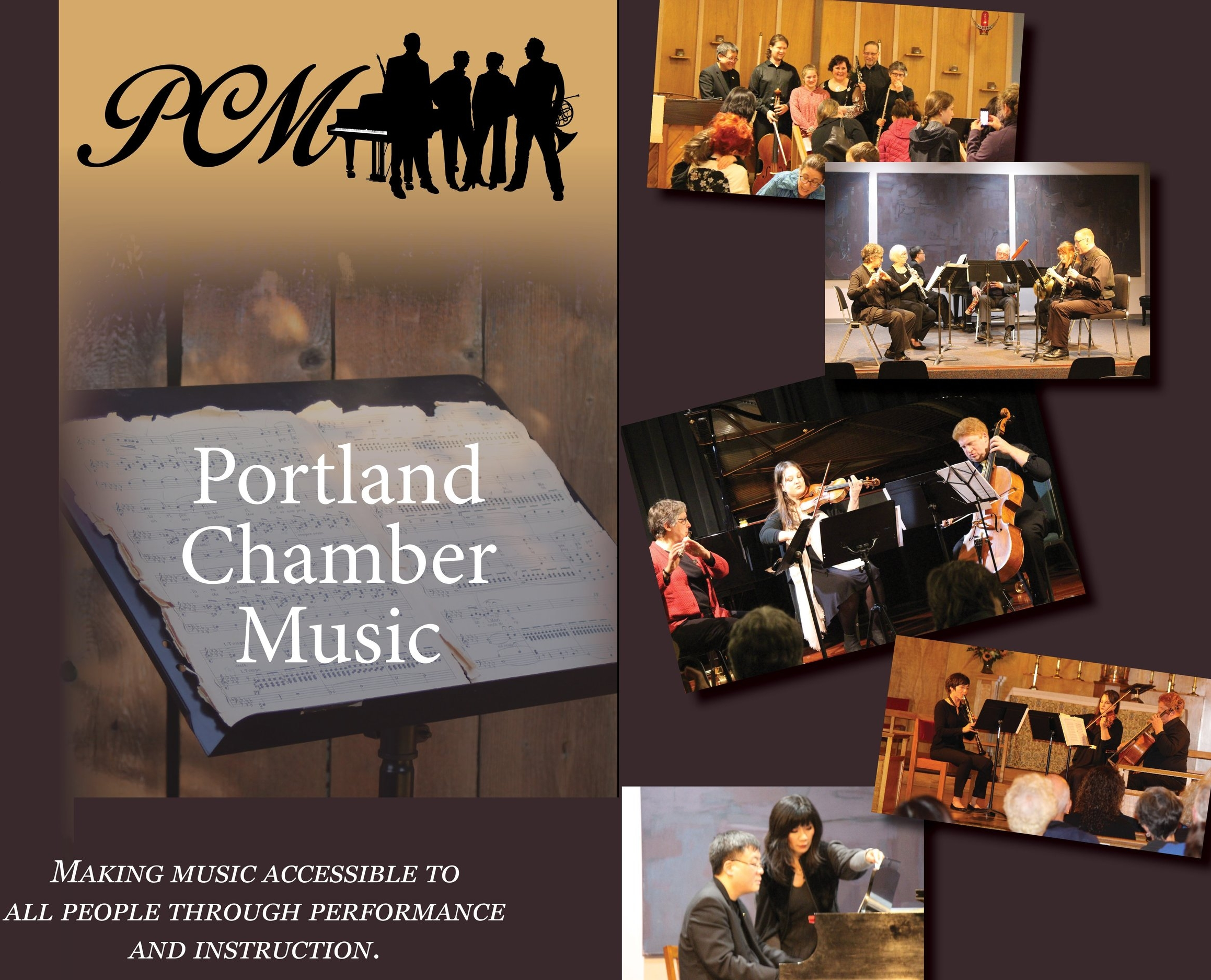 - To be part of our Program Guide for Fall Season 2019, please fill out the form and email your artwork to portlandchambermusic@gmail.com by September 16, 2019If you have any additional questions, please contact Executive Artistic Director Anya Kalina or President Kimberly Sieffert at portlandchambermusic@gmail.comThank You!
