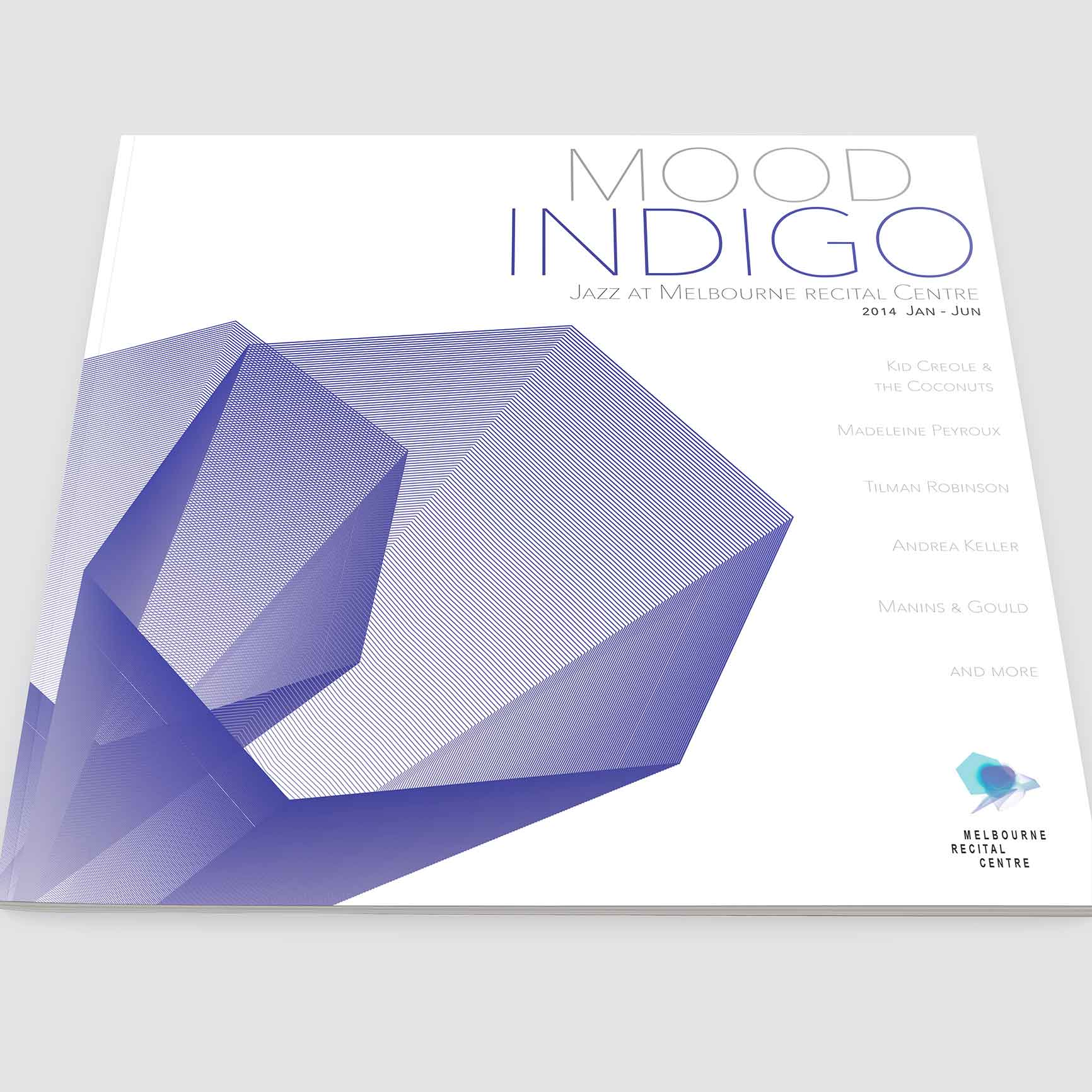 Melbourne Recital Centre - Mood Indigo Jazz Festival Program