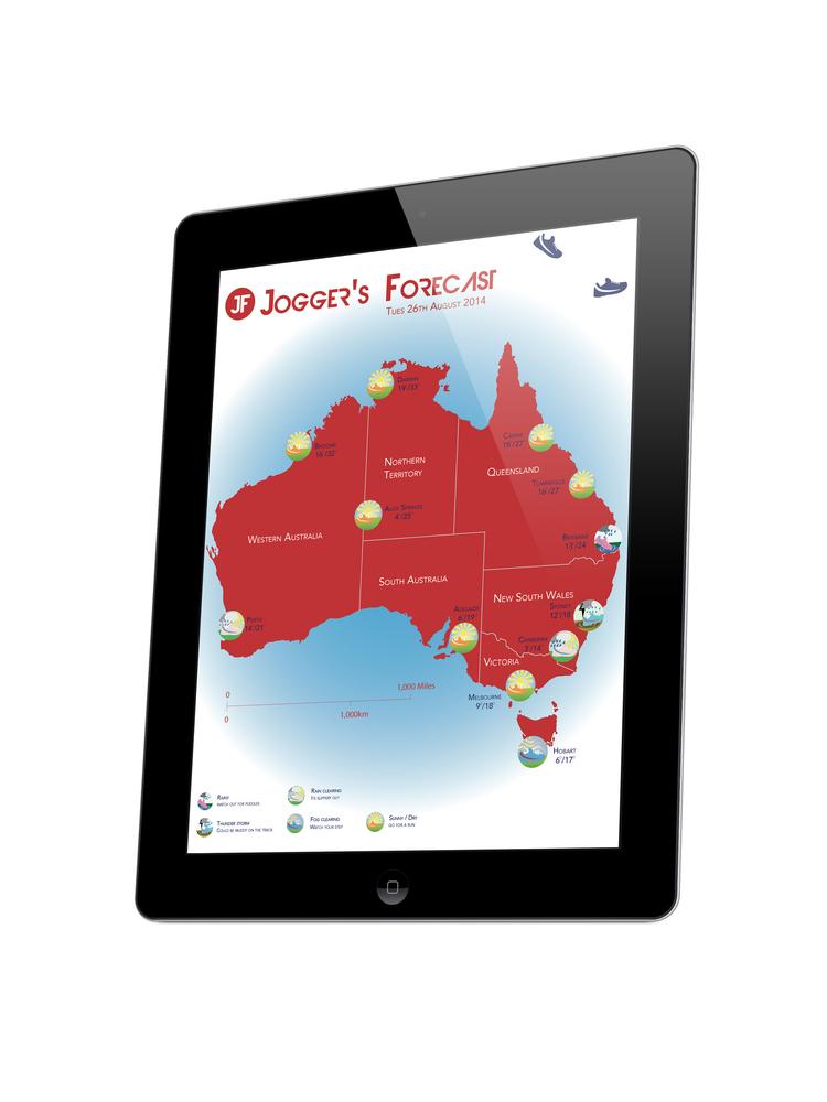 Joggers Weather App