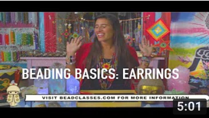 Beading Basics 101: Earring Making