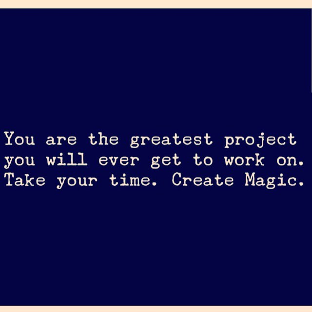 #Truth ✨✨✨... #createmagic #createyou #takeyourtime #miracleshappen #loveisallaroundus #loveisall #loveisthemessage