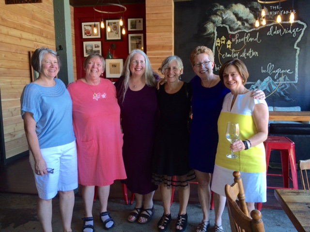 (L-R) Midwives, Lisa Chickadonz, Mary Dietrich, Linda Nelson, Wendy Berger, Becky Bruns and Dr. Maria Leiva.