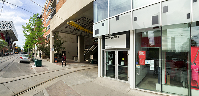OCAD University Student Centre Exterior / After
