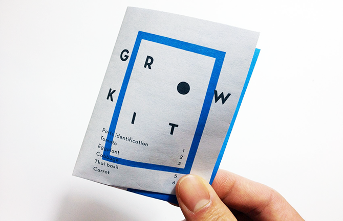 GROW Kit Booklet / Cover