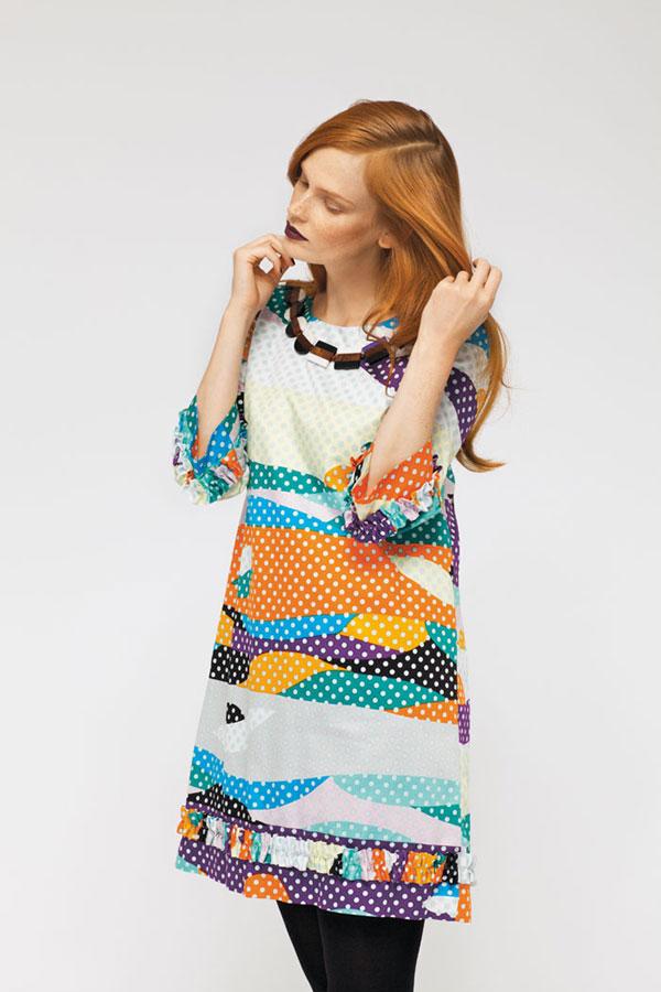 Textile print design for Marimekko.