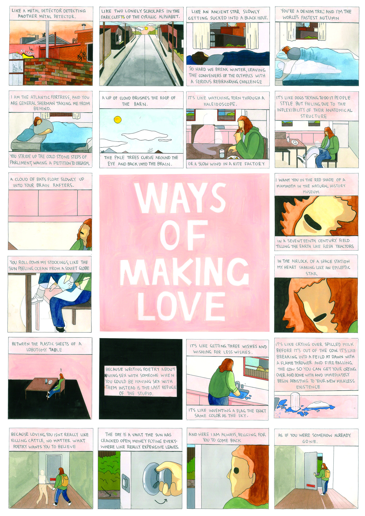 Words Hera Lindsay Bird, illustrations Tommy Parrish