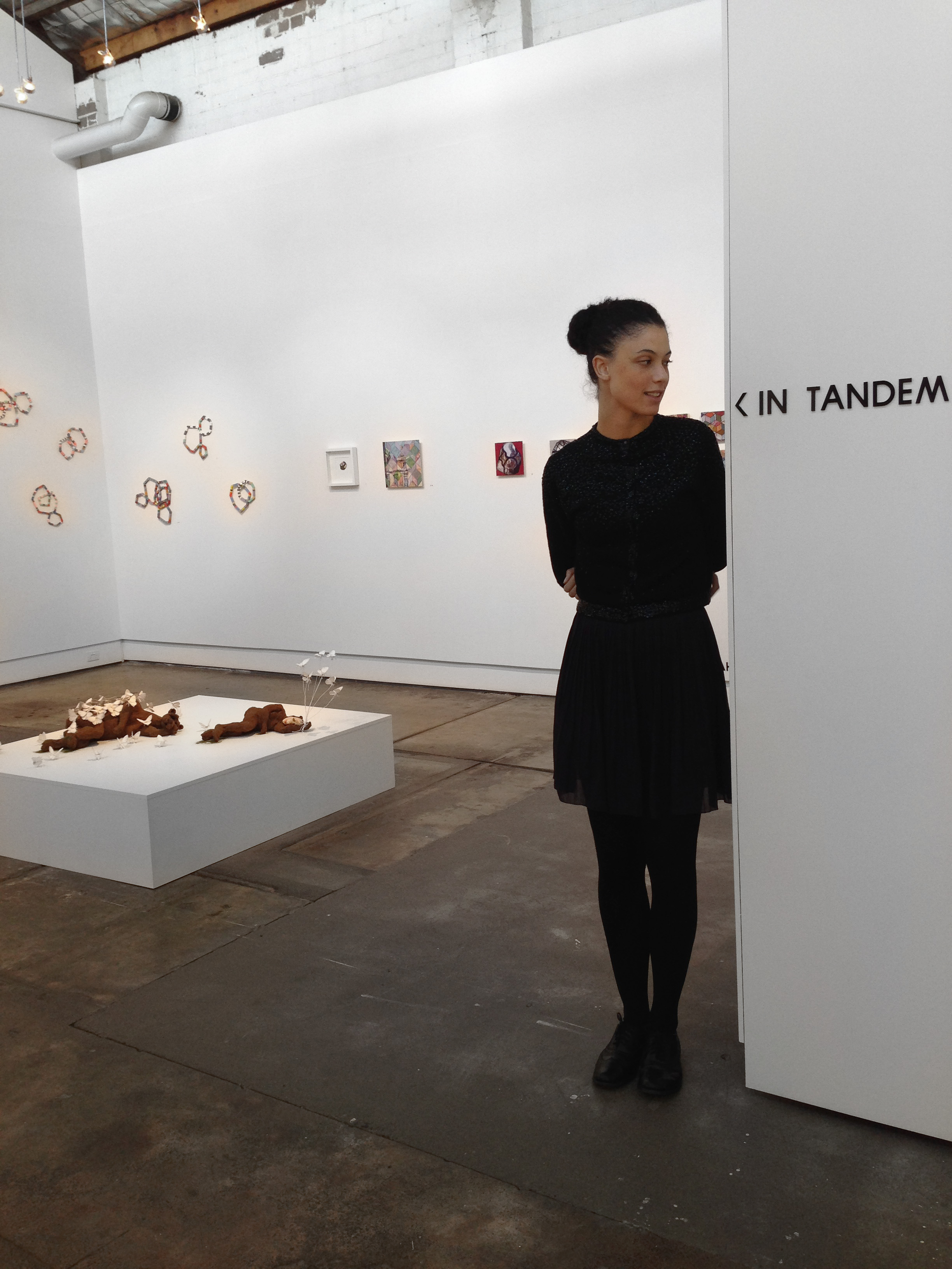 'In Tandem' 2014, installation view, Brenda May Gallery, Sydney. Curated by Olivia Welch.Image courtesy of the Artists and MAY SPACE, Sydney.