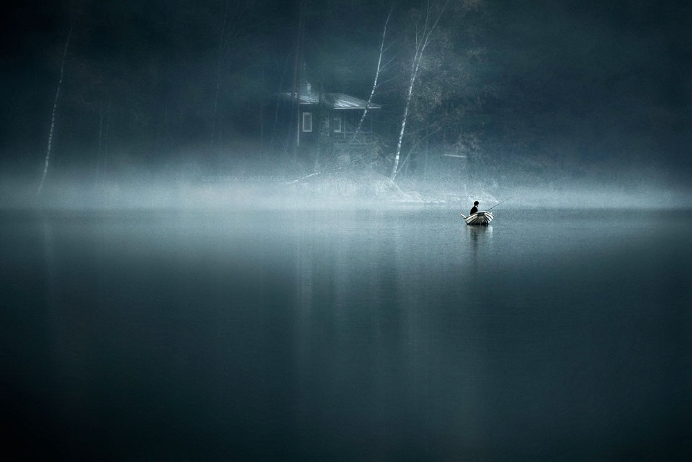 """""""  Moody Water"""" by Mikko Lagerstedt."""