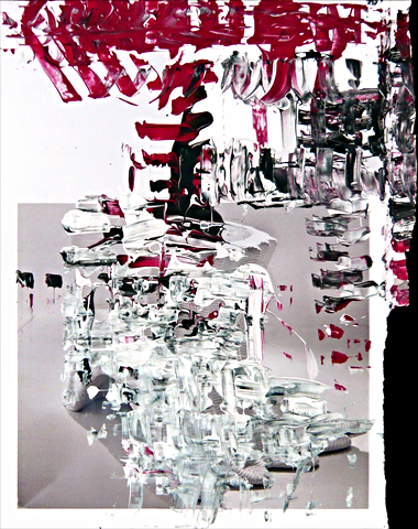 """""""Datenzauber 4.17"""" by Wolfgang Voigt."""