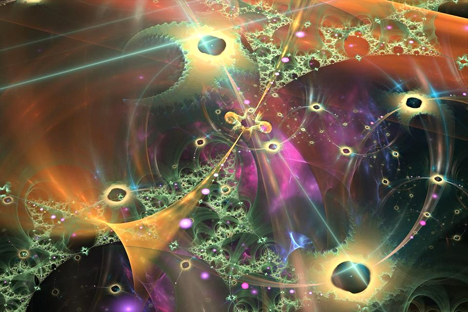 Artwork by Martin W. Ball of  The Entheogenic Evolution .