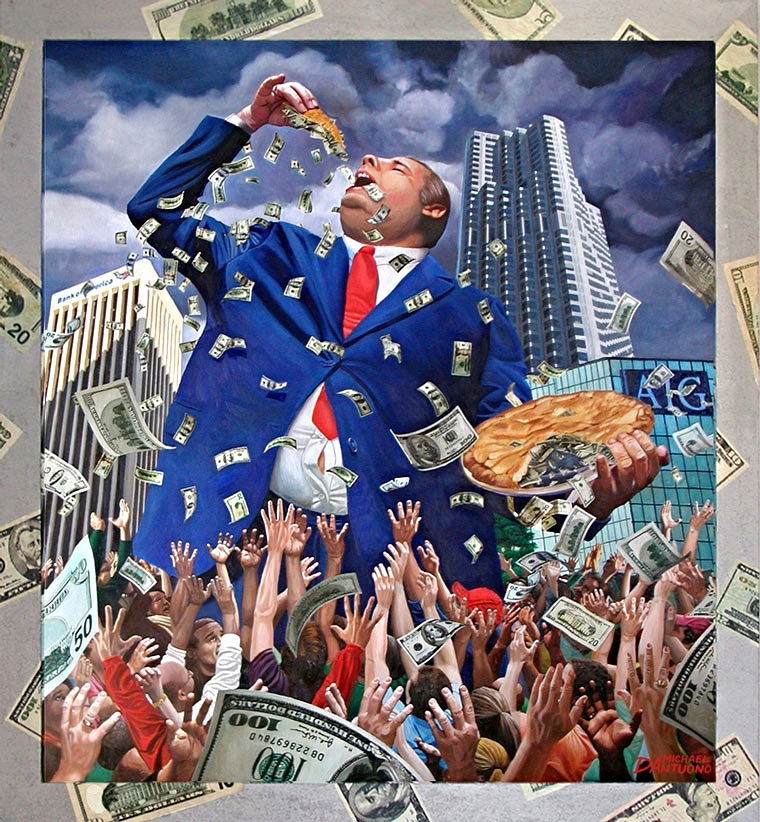 """ American Pie (trickle down economics)"""