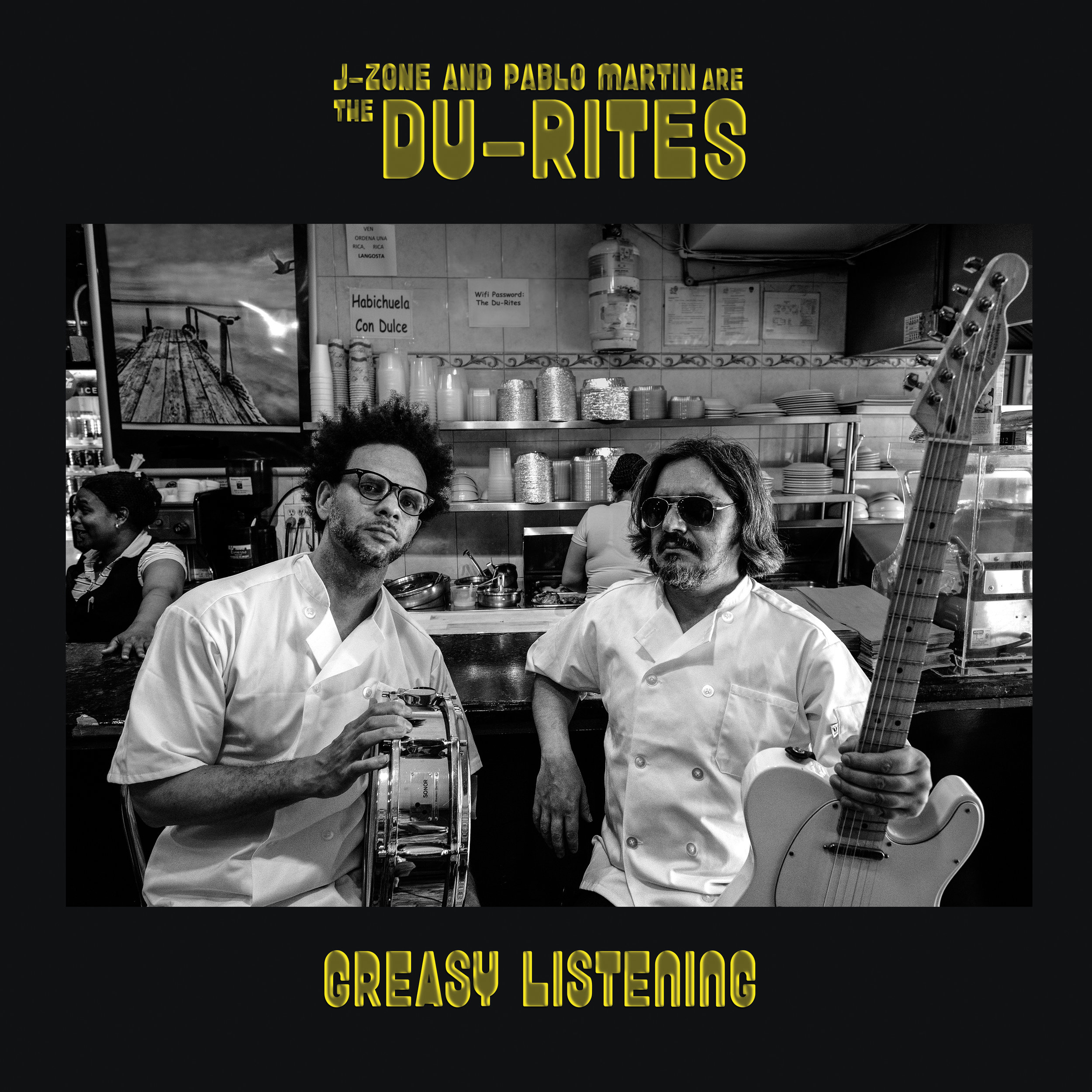 The Du-Rites :    Greasy Listening