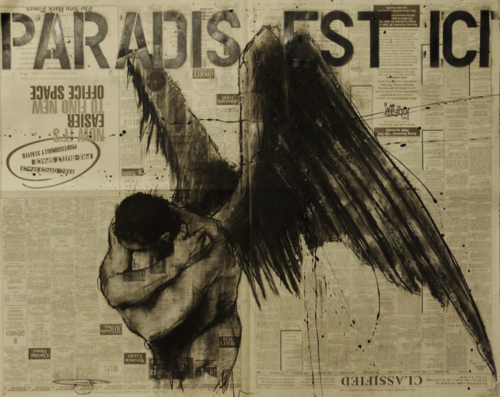 """""""  Humanity has been making this art stuff now, in one form or another, for more than 35000 years. I like to think that it's the artists, musicians, singers and story-tellers that have contributed the most to stop us from eating each other.  """" - Guy Denning"""