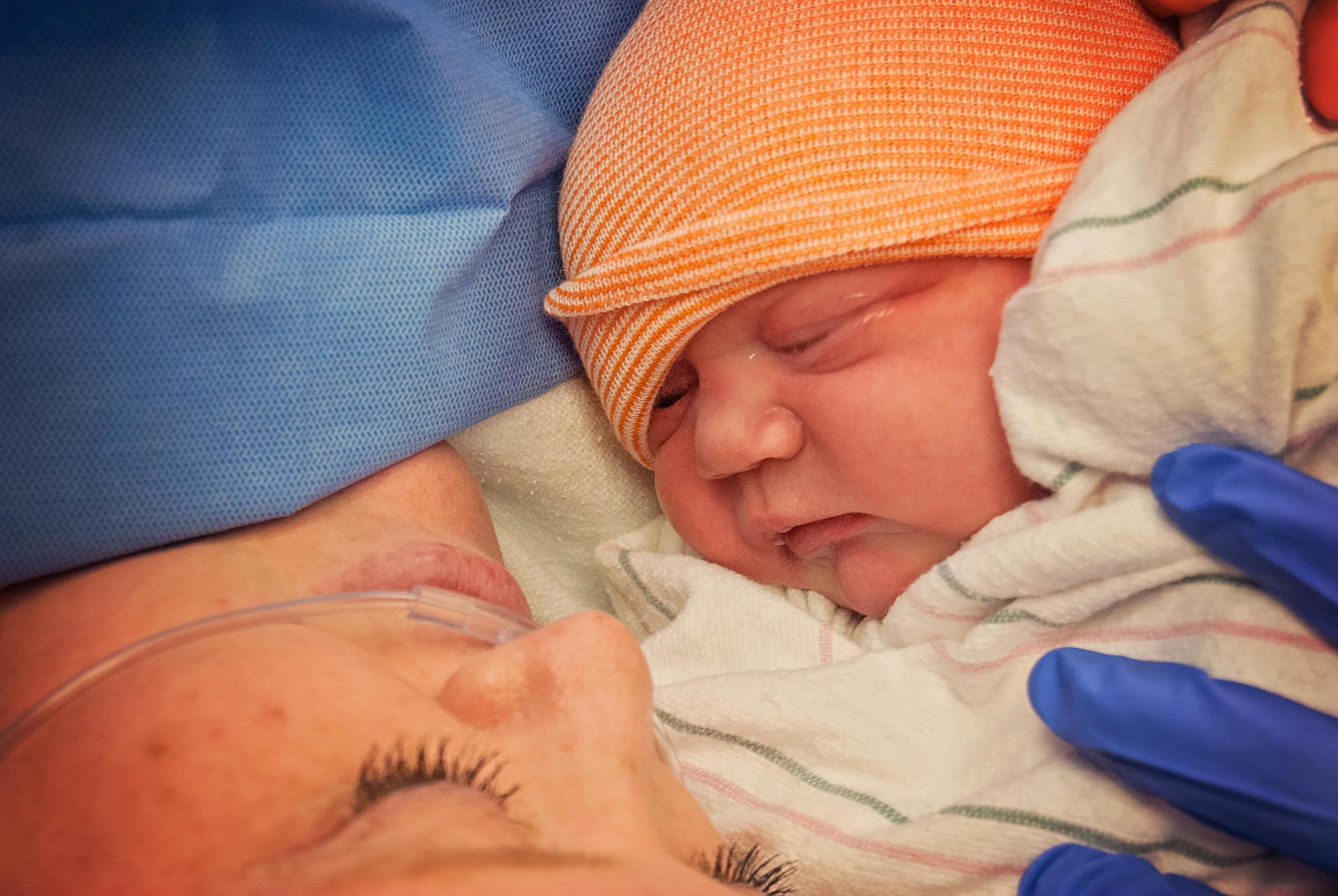 Newborn Baby Rhys & Mommy- Featured on Pregnancy Corner