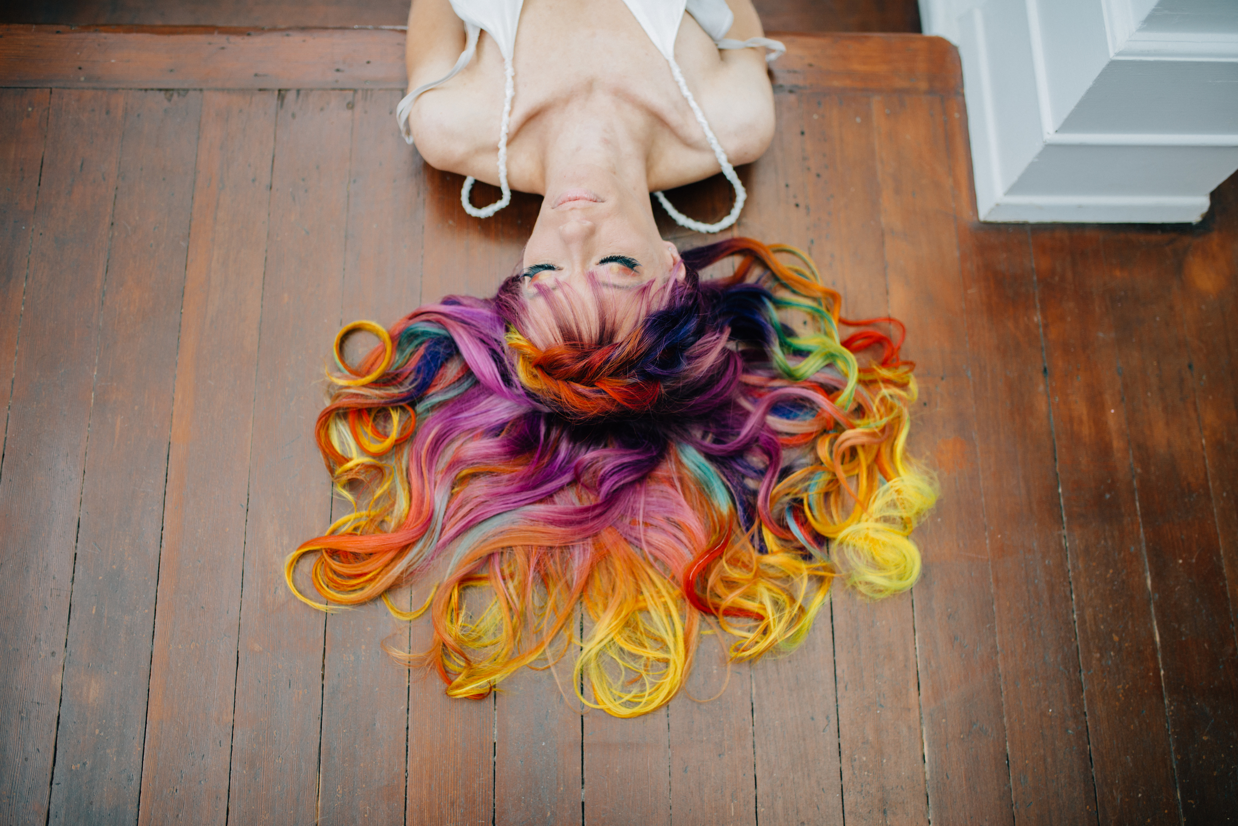 Unicorn Tribe Styled Shoot Featured onHair Cut Web