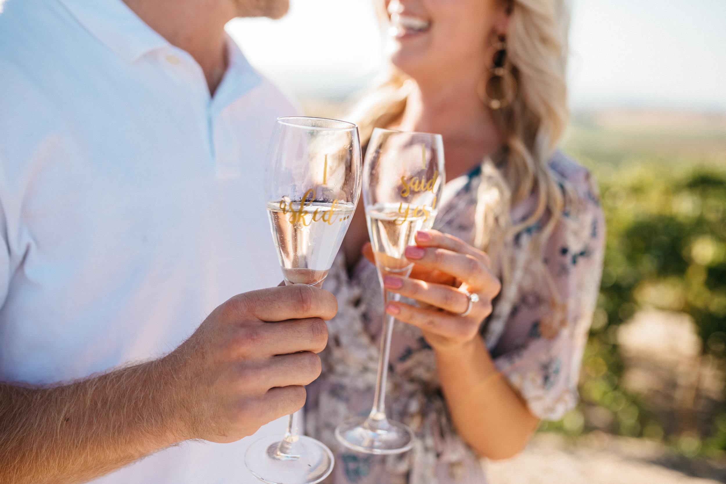 {Justin & Carly Surprise Proposal}